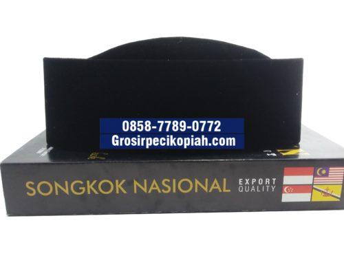 Jual Peci Grosir Zaman Presiden Songkok Susun Gunung Kopiah HItam Polos - 20150915 134153 Copy 500x375