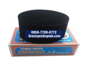 Jual Grosir Kopiah Mutiara Songkok Bahan Bludru Peci Kopiah Produsen - peci hitam mutiara 1 300x225